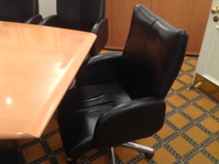 additional images for 2750x1200mm Bene beech veneer boardroom table (CE)