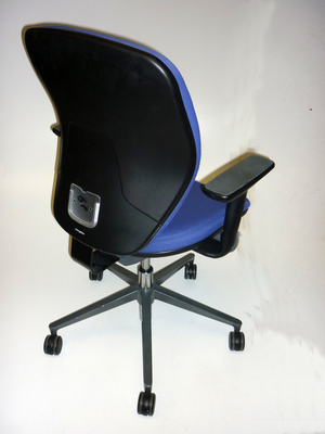 additional images for Light blue Orangebox Joy mid-back task chairs