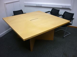 additional images for 2300 x 1500mm maple veneer table