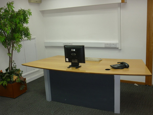additional images for Beech veneer reception desk