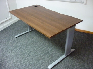 additional images for 1400w x 800d mm Task frame desks with new tops (CE)