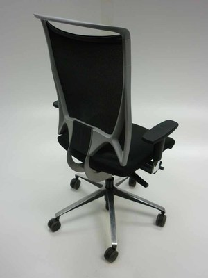 additional images for Black mesh back task chair