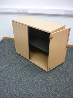 additional images for 830mm high Bene beech cupboard
