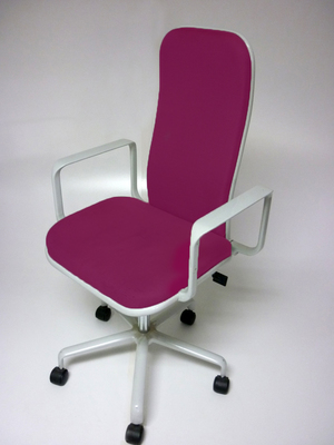 additional images for Reupholstered Fred Scott Supporto task chairs
