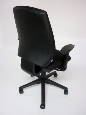 additional images for Black GDB Team task chair with adjustable arms (CE)
