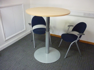 additional images for 910mm diameter maple rise and fall table