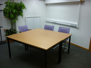 additional images for Harley Axis 1500x750mm beech foldaway conference tables