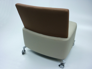Orangebox Path brownbeige mobile soft seating