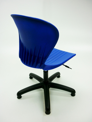 additional images for Blue plastic operator/classroom chair