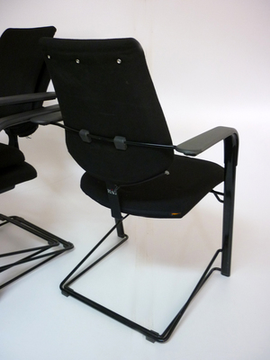 additional images for Black HAG stackable meeting chairs