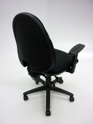 additional images for Black Summit SC506 2 lever operator chairs