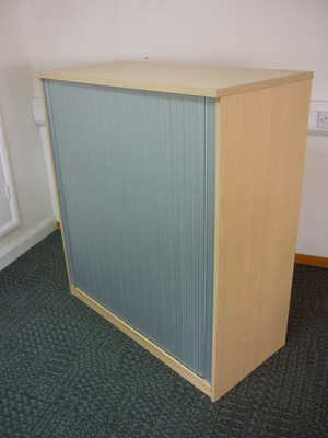 additional images for 1240mm high ash tambour cupboard