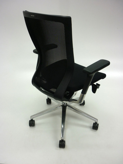 additional images for Black mesh back Sidiz task chair model T50