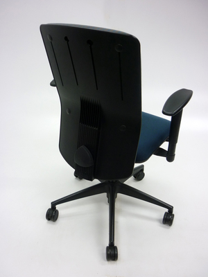 additional images for Girsberger green and grey task chair with arms