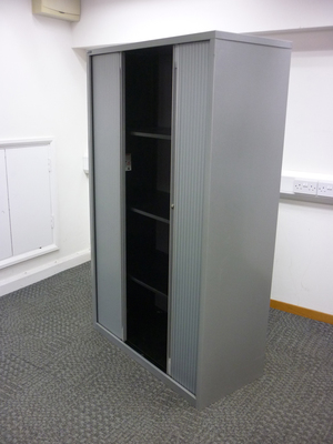 additional images for 1680mm high silver Triumph tambour cupboard