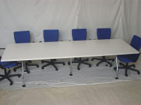 additional images for Vitra white boardroom table