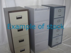additional images for Metal 4 drawer filing cabinets from