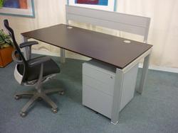 additional images for Forza 1600x800mm wenge desks