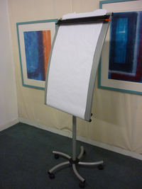 additional images for Legamaster mobile flipchart,paper roll easel