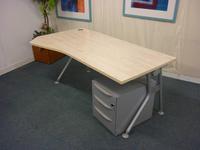 additional images for IVM 1800 x 800/1000/800mm maple wave desks